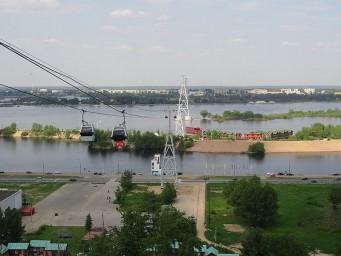 Канатная дорога. Между Нижним Новгородом и Бором